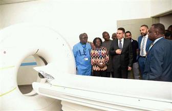 السفير المصري في غانا يشهد افتتاح مشروع للقطاع الخاص المصري في مجال الرعاية الصحية