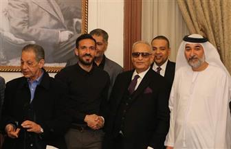 نجوم الرياضة يتوافدون على حزب الوفد   صور