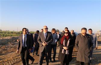 محافظ قنا يتفقد مشروع تطوير جزيرة الدوم وقناطر نجع حمادي | صور