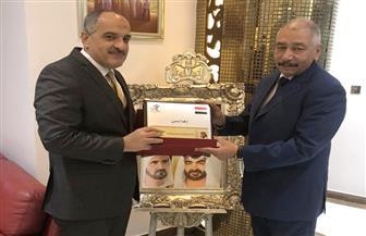 الاتحاد الدولي لأبناء مصر بالخارج يكرم المستشار العمالي بالإمارات
