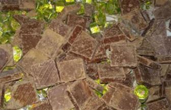«مباحث التموين» تضبط 16 طن شكيولاتة فاسدة بكفر طهرمس في الجيزة
