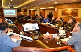نائب محافظ الغربية يستعرض نسب تنفيذ مشروعات أعمال تطوير ورصف الطرق   صور
