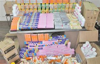 ضبط مخزن توريد أدوية بداخله أكثر من مليون عقار ومستحضرات تجميل مهربة