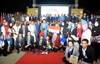 افتتاح المنتدى العربي الإفريقي العاشر ٢٠١٩ بالأقصر   صور