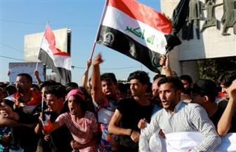 آلاف العراقيين يشيعون جثامين ضحايا الحشد الشعبي داخل المنطقة الخضراء