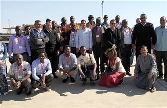 وفد من 6 دول إفريقية يختتمون زيارتهم للأقصر بعد زيارة المعالم الأثرية | صور