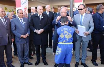 محافظ القاهرة يكرم 110 من أبناء الأسمرات الفائزين في رياضة الكونغ فو | صور
