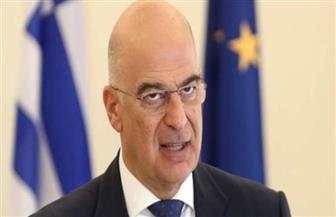 وزير الخارجية اليوناني يصل إلى مدينة بنغازي الليبية