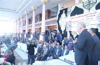 في لقاء جماهيري.. محافظ قنا يستعرض مشروعات الصرف الصحي مع عدد من مواطني نجع حمادي | صور