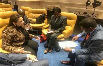 مساعد وزير الخارجية للمنظمات والتجمعات الإفريقية تناقش تفعيل مركز الاتحاد الإفريقي لإعادة الإعمار