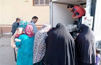 مستقبل وطن بكفر الشيخ ينظم قافلة غذائية بأسعار مخفضة| صور