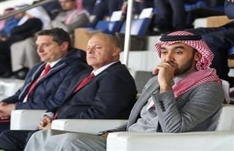 أبو ريدة يهنئ رئيس هيئة الرياضة السعودية باستضافة السوبر الإيطالي  صور