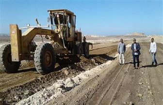 رئيس مرسى علم يشدد على استكمال المرافق الخاصة بأراضي تقسيمات الشباب| صور