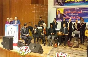رئيس جامعة بورسعيد: نستخدم الفن في محاربة التطرف|صور