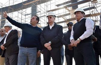 محسن صلاح يتفقد أعمال مشروع مبنى مجلس النواب بالعاصمة الإدارية الجديدة | صور