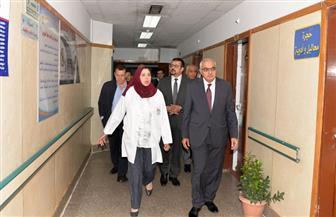 افتتاح تجديدات العناية المركزة والمتوسطة بالباطنة التخصصي بجامعة المنصورة | صور