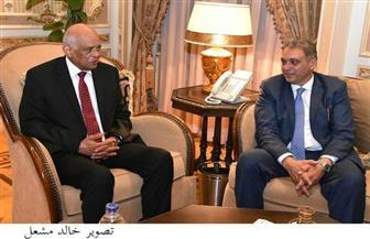 رئيس مجلس النواب يستقبل وزير شئون المجالس النيابية | صور