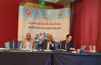 الجمل: مشروع بناء قدرات العمال المهاجرين يستهدف مصر ولبنان واﻷردن | صور