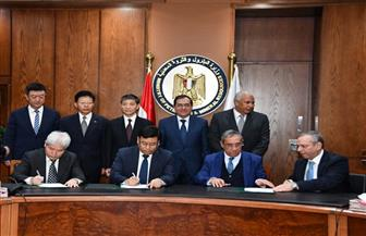 توقيع عقد إنشاء مشروع مجمع تصنيع حامض الفوسفوريك بأبو طرطور| صور