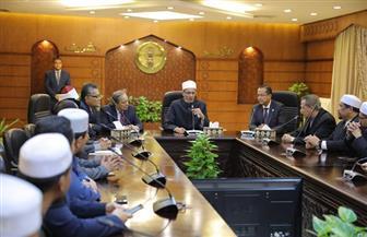 وكيل الأزهر يستقبل رئيس وزراء ولاية تيرينجانو الماليزية| صور