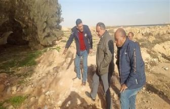 إنشاء شبكة ري لمنع وصول مياه الصرف الصحي المعالجة إلى قرية علوش بمطروح| صور