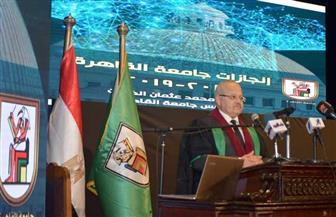الخشت لعلماء جامعة القاهرة: نحتاج إلى جهودكم لمواجهة التحولات الراهنة والمستقبلية