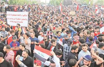 احتجاجات ضد الحكومة فى العراق