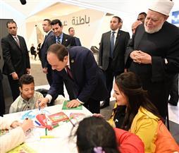 الرئيس السيسي: شعرت بسعادة بالغة وأنا بين أبنائي وبناتي من ذوي القدرات الخاصة| صور
