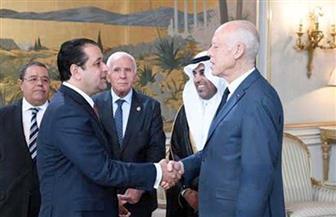 علاء عابد خلال لقاء قيس بن سعيد: مصر وتونس تربطهما علاقات تاريخية راسخة | صور
