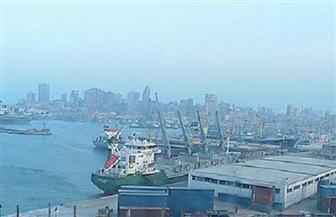 إغلاق موانئ السخنة وشرق وغرب بورسعيد بسبب سوء الأحوال الجوية