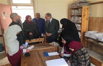 محافظ كفر الشيخ يتفقد مدرسة النور للمكفوفين ويكرم القيادات | صور