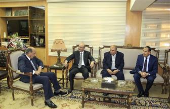 وزير العدل يستقبل رؤساء الجهات والهيئات القضائية والجهاز المركزي للمحاسبات | صور