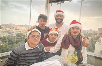 أحمد حسام ميدو يحتفل بالكريسماس على طريقته الخاصة|صور