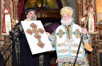 ننشر كلمة البابا تواضروس خلال تهنئة بطريرك الروم الأرثوذكس بالكريسماس|صور