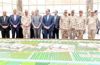 بث مباشر.. الرئيس السيسي يفتتح عددا من المشروعات في مجال الإنتاج الحيواني بالفيوم