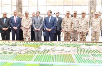 الرئيس السيسي: مشروعات جهاز الخدمة الوطنية تستهدف خلق فرص عمل.. والباب مفتوح أمام القطاع الخاص