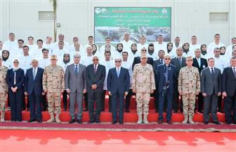 الرئيس السيسي يطالب بضرورة الاستفادة من الجامعات في استنباط الزراعات وإنتاج الألبان
