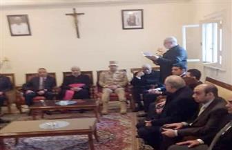 المصريين الأحرار بالإسكندرية يهنئ الكاثوليك بعيد الميلاد المجيد