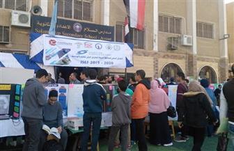 افتتاح المعرض الدولي للعلوم والهندسة للطلاب المبتكرين بمدرسة السلام ناجي بأسيوط   صور
