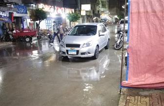 أمطار غزيرة ومتواصلة على مدن وقرى كفرالشيخ تقطع الكهرباء وتوقف عمليات الصيد