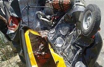إصابة 7 مواطنين فى حادث تصادم بشبراخيت في البحيرة