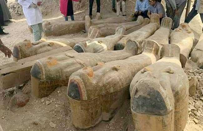 مسئول بالآثار صور القطعة الأثرية والتوابيت الفرعونية في أفغانستان غير أصلية ومقلدة