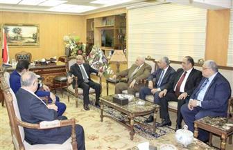 وزير العدل يستقبل رئيس الهيئة الوطنية للانتخابات