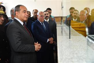محافظ بورسعيد يفتتح سجلا مدنيا بمدينة بورفؤاد أول  صور