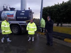 وزيرالتنمية المحلية يوجه باستمرار رفع درجة الاستعداد والطوارئ لمواجهة الطقس السيئ|صور