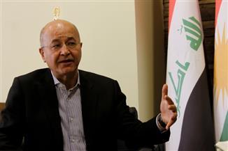 برهم صالح.. تاسع رئيس للعراق يستقيل بعد عام وشهرين| صور