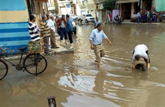أمطار غزيرة على مدن وقرى كفرالشيخ لليوم الثالث على التوالي |صور