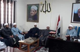 ختام فعاليات قافلة دعوية من مجمع البحوث الإسلامية  بالبحر الأحمر   صور