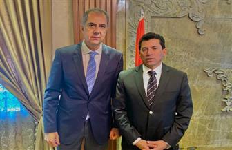 وزير الرياضة يبحث مع رئيس نادي الجزيرة استعدادات افتتاح فرع النادي بمدينة 6 أكتوبر
