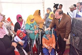 محافظ أسيوط يشهد احتفال اليوم العالمي للأشخاص ذوي الإعاقة | صور